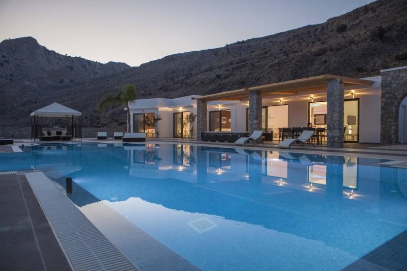 Location de vacances - Villa à Lindos - Notre villa