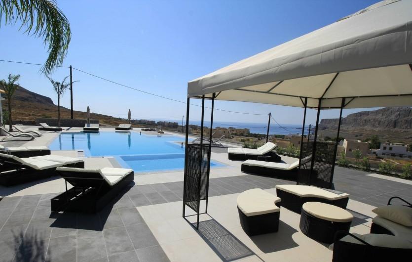 Location de vacances - Villa à Lindos