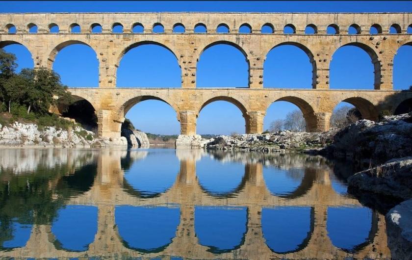 Location de vacances - Villa à Villevieille - Le pont du Gard