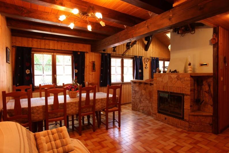 Location de vacances - Chalet à Les Houches - salle a manger
