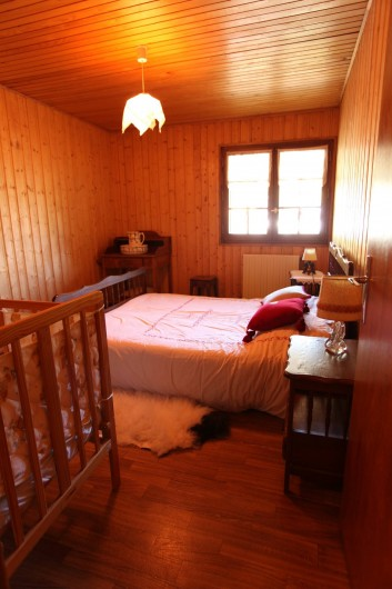 Location de vacances - Chalet à Les Houches - 1ere chambre