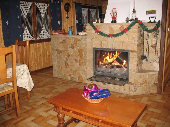 Location de vacances - Chalet à Les Houches - deco noel