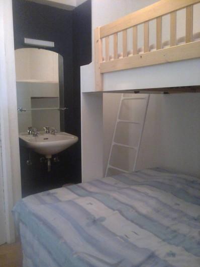 Location de vacances - Appartement à Koksijde - petite chambre avec mezzanine