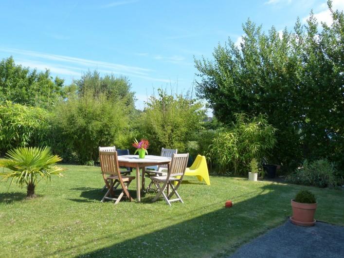Location de vacances - Villa à Pléneuf-Val-André - Jardin