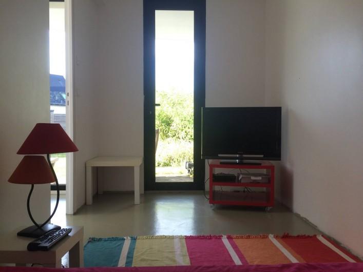 Location de vacances - Villa à Pléneuf-Val-André - Petite salle TV