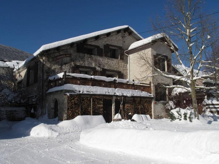 Location de vacances - Gîte à Saint-Agnan-en-Vercors - Gîte en Hiver