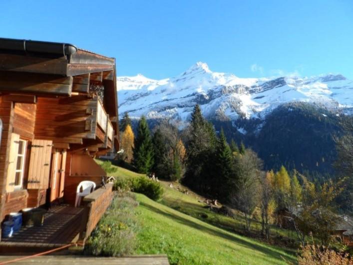 Location de vacances - Chalet à Ormont-Dessus