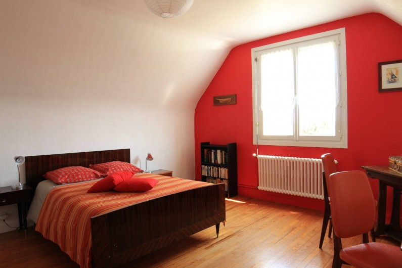 Location de vacances - Maison - Villa à Landéda - Chambre rouge