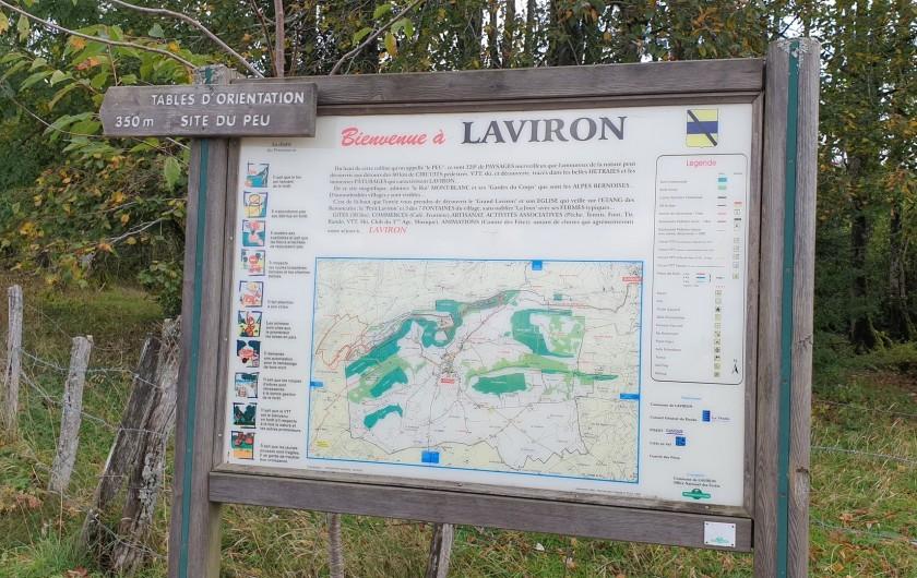 Location de vacances - Gîte à Laviron - Amis randonneurs ou simplement curieux de découvrir ce petit coin de paradis