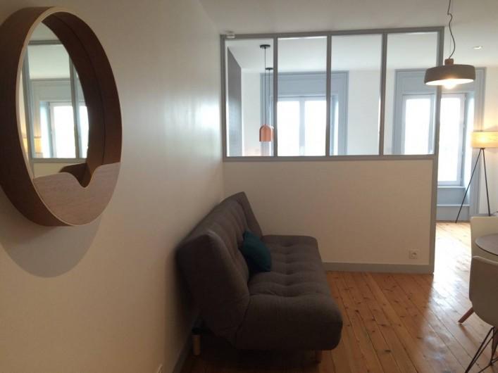 Location de vacances - Appartement à Saint-Pair-sur-Mer - Canapé convertible