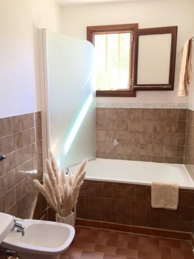Location de vacances - Villa à Calvi - Salle de bain