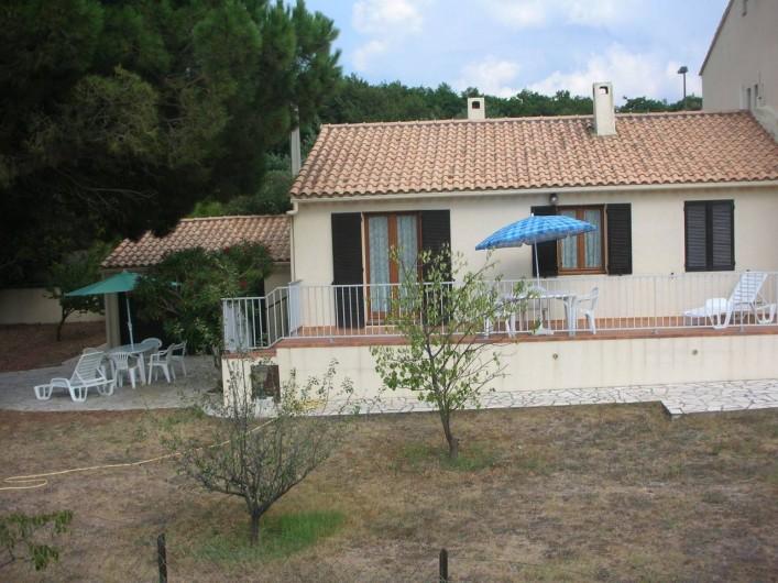 Location de vacances - Villa à Calvi - Terrasse 2