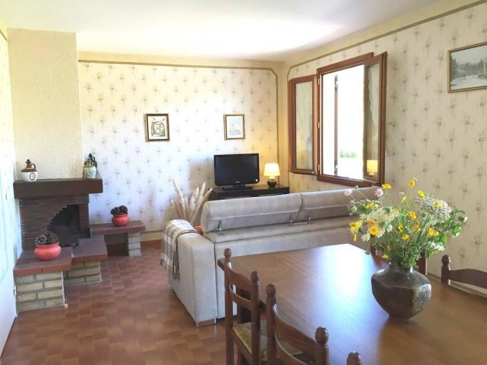 Location de vacances - Villa à Calvi - Séjour