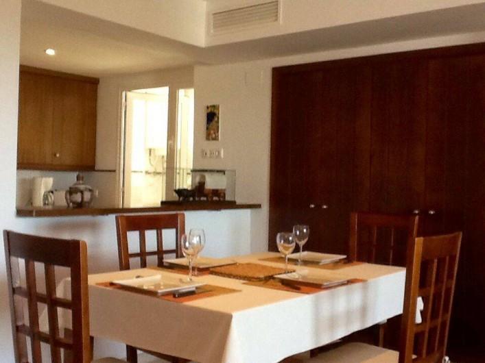 Location de vacances - Appartement à Torrevieja - Living