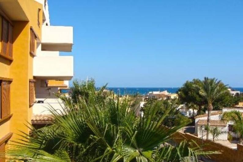 Location de vacances - Appartement à Torrevieja - Vue depuis l'appartement