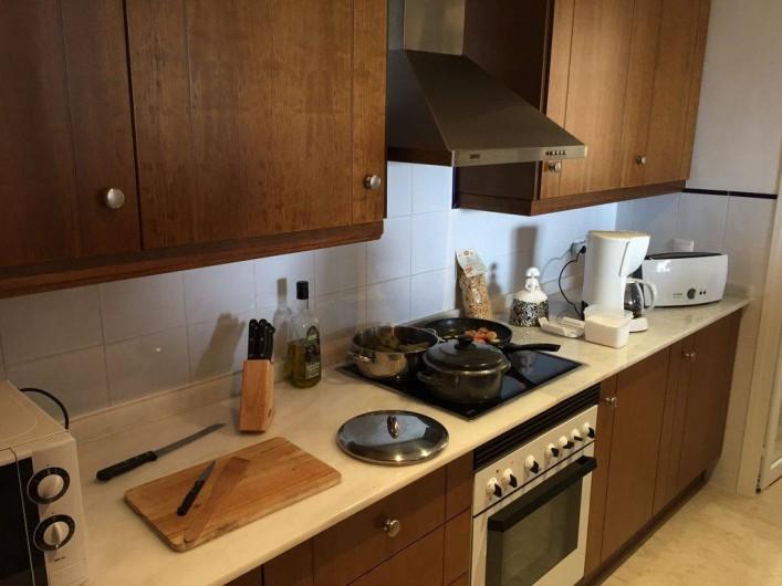 Location de vacances - Appartement à Torrevieja - Cuisine équipée