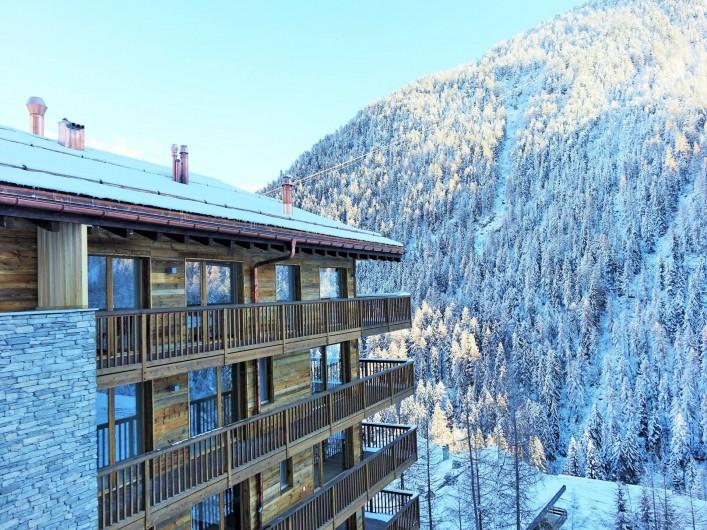 Location de vacances - Appartement à Grimentz