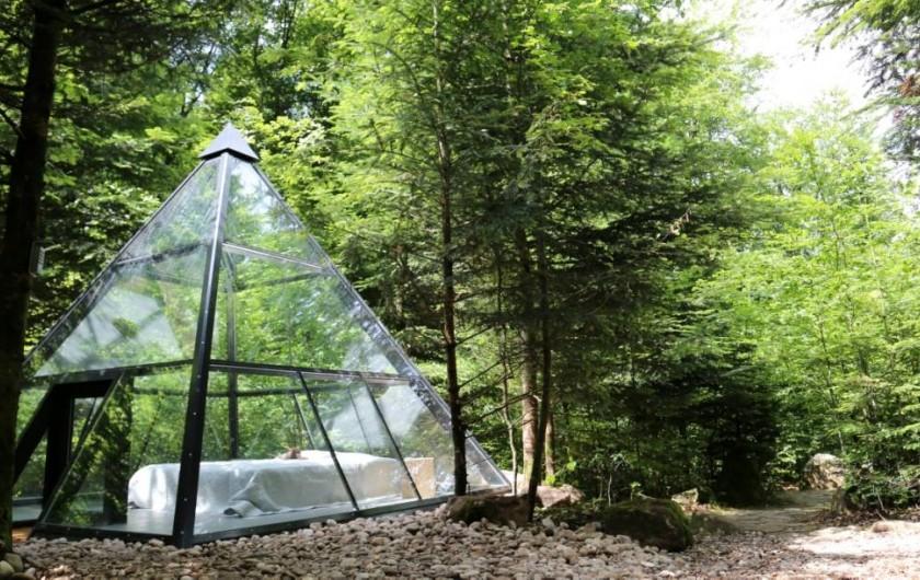 Location de vacances - Insolite à La Chapelle-aux-Bois - Tétramide