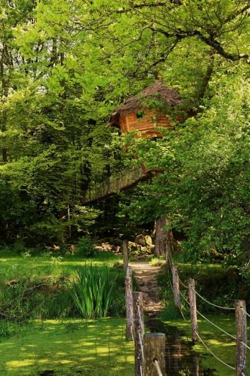 Location de vacances - Insolite à La Chapelle-aux-Bois - Cabane du Barde