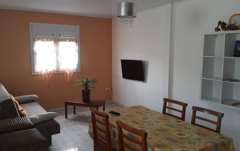 Location de vacances - Villa à Rivière-Pilote - salon