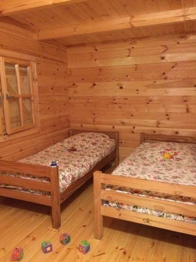 Location de vacances - Chambre d'hôtes à Saint-Barthélémy-Grozon - La chambre enfants de la maison d'hôtes familiale Domaine de Plantât