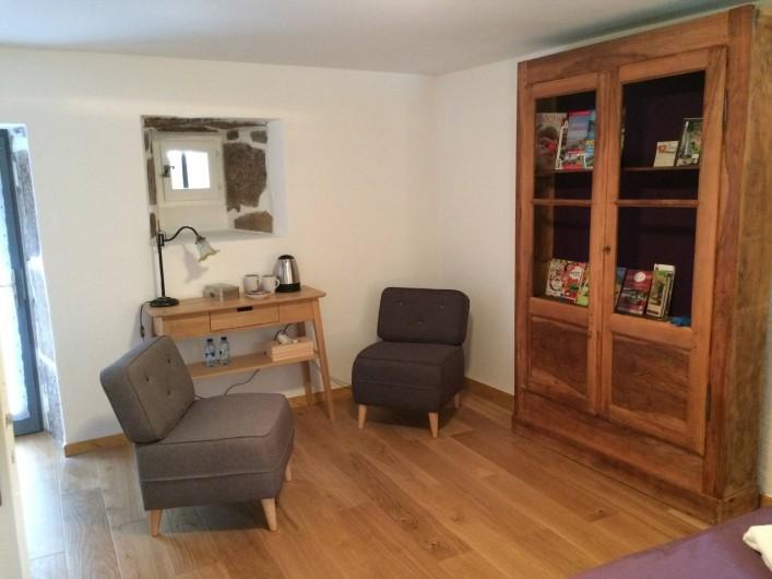 Location de vacances - Chambre d'hôtes à Saint-Barthélémy-Grozon - Chambre d'hôtes La Libellule Domaine de Plantât