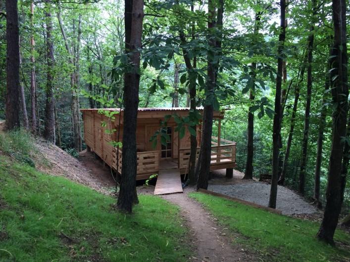 Location de vacances - Chambre d'hôtes à Saint-Barthélémy-Grozon - La maison d'hôtes familiale La Clède Domaine de Plantât