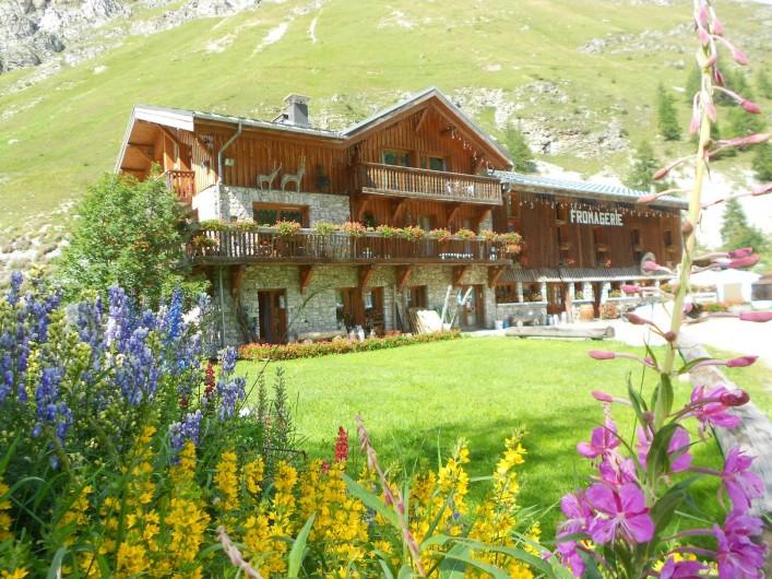 Location de vacances - Studio à Val-d'Isère - ferme de l'Adroit, production et vente d'avalin et de tomme