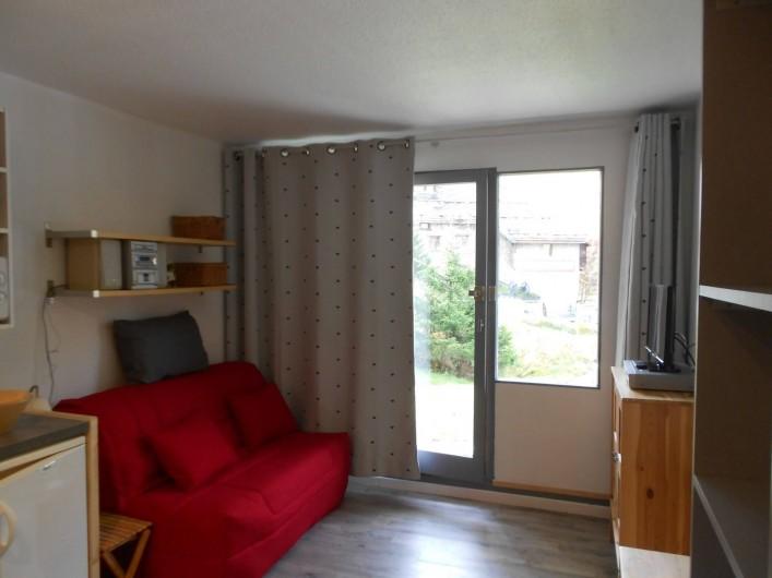 Location de vacances - Studio à Val-d'Isère - salon avec BZ 140
