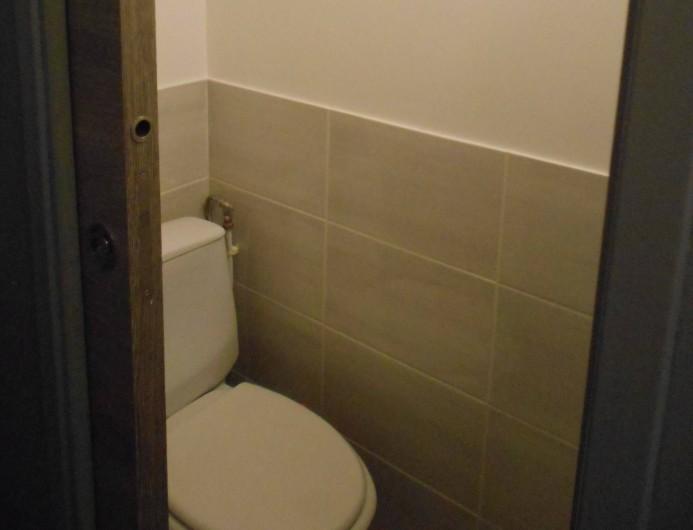 Location de vacances - Studio à Val-d'Isère - WC indépendant