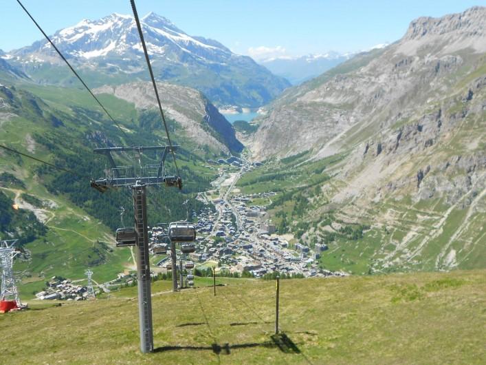 Location de vacances - Studio à Val-d'Isère - val d'Isère et lac de Tigne