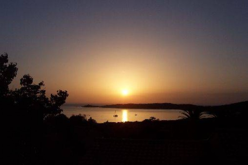 Location de vacances - Villa à Cargèse - coucher de soleil