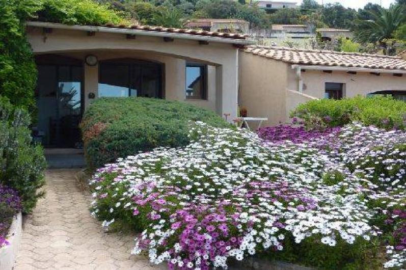 Location de vacances - Villa à Cargèse - vue à votre arrivée