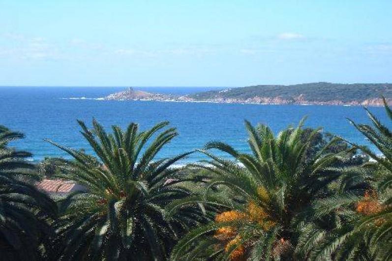 Location de vacances - Villa à Cargèse - vue de la villa