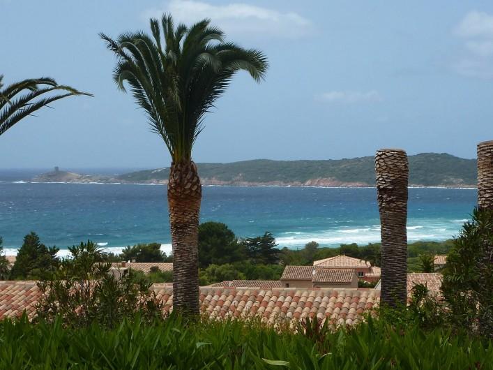 Location de vacances - Villa à Cargèse - la plage du péro  à 500m