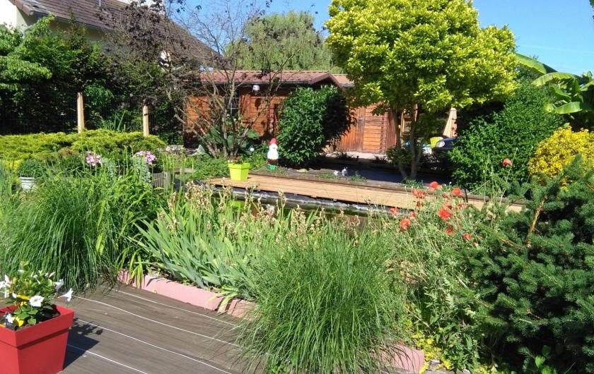 Location de vacances - Appartement à Schleithal - le jardin