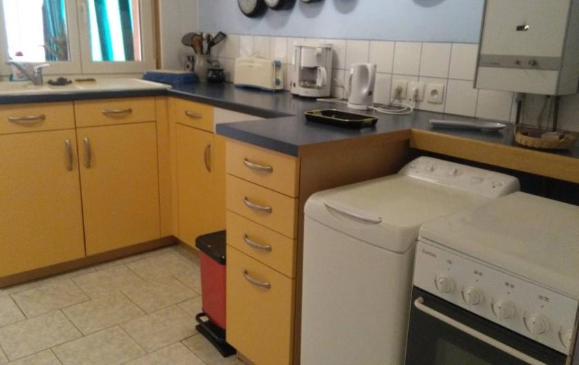 Location de vacances - Appartement à Schleithal - la cuisine