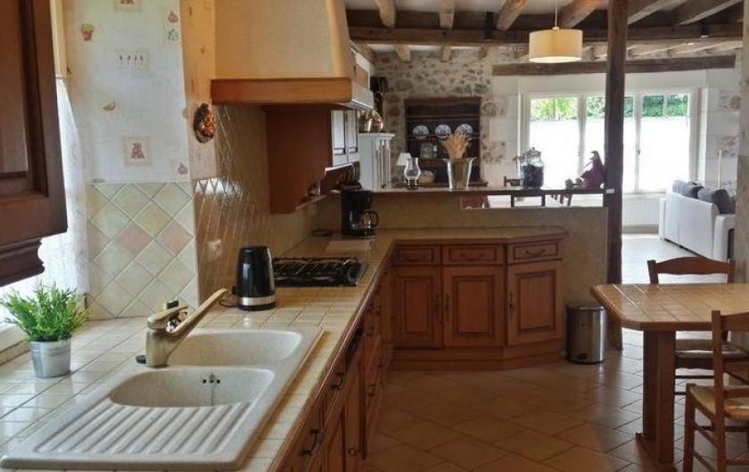 Location de vacances - Gîte à Villandry - La cuisine