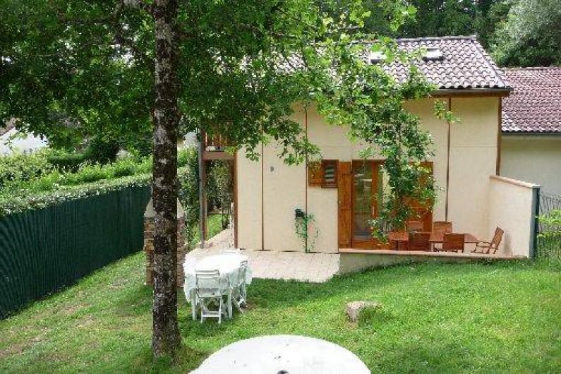 Location de vacances - Chalet à Saint-Gérons - Jardin à l'orée du bois