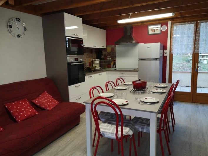 Location de vacances - Chalet à Saint-Gérons - Nouvelle cuisine 2020