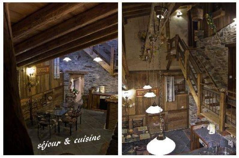 Location de vacances - Chalet à Lanslebourg-Mont-Cenis