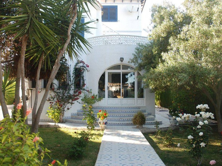 Location de vacances - Villa à La Zenia - jardin d'entrée