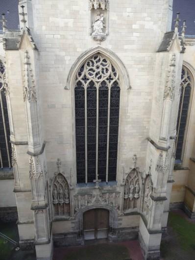Location de vacances - Hôtel - Auberge à Lille - Vue côté Eglise