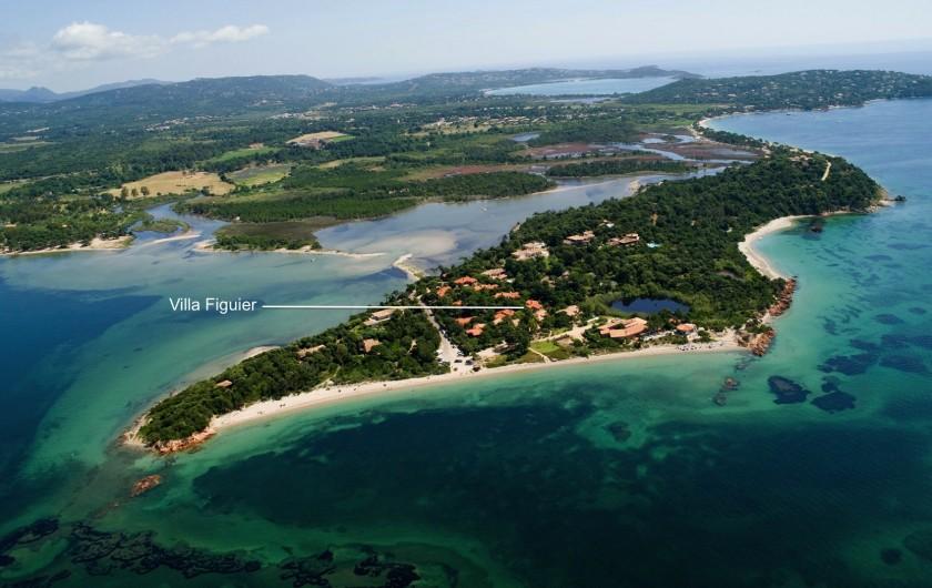 Location de vacances - Villa à Lecci - Presqu'ile du Benedettu