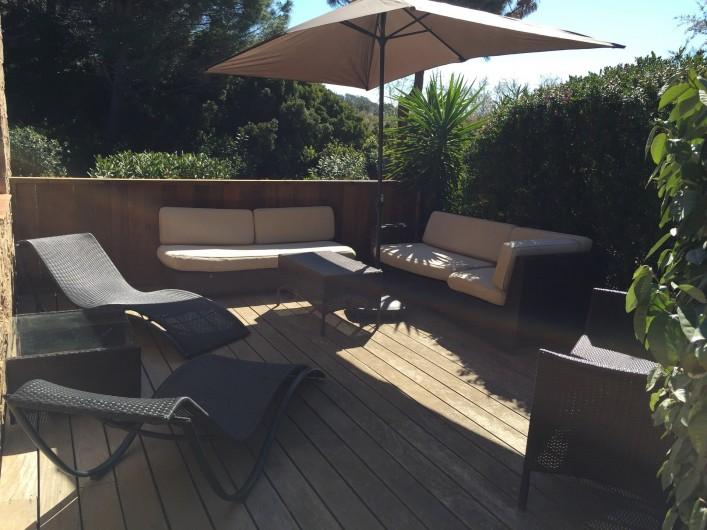 Location de vacances - Villa à Lecci - Terrasse