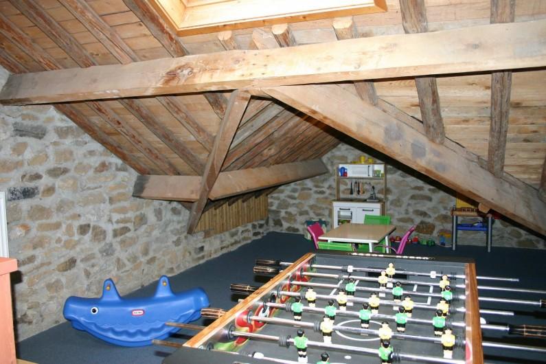 Location de vacances - Gîte à Petit-Thier - Le kiker et le coin-jeux