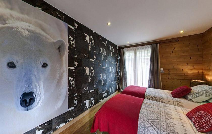 Location de vacances - Chalet à Megève - Bedroom n°3