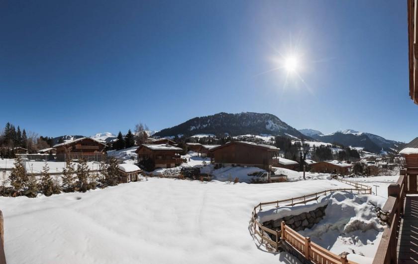 Location de vacances - Chalet à Megève - Panoramic view