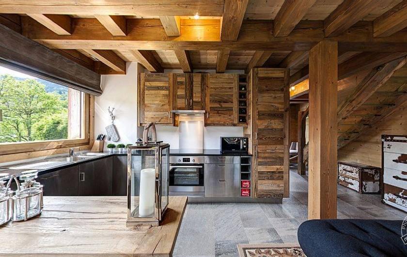 Location de vacances - Chalet à Megève - kitchen