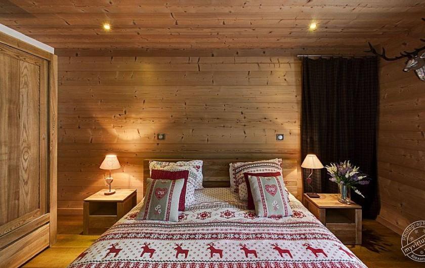 Location de vacances - Chalet à Megève - Bedroom n°2